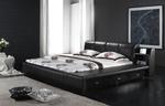 Дизайнерски тапицирани легла с естествена кожа
