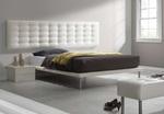 Тапицирани легла с еко кожа или дамаска по поръчка по индивидуален проект