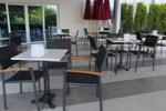 Устойчиви метални столове за басейни
