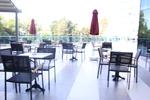 Устойчив метален стол за кафене