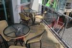 Здрави метални столове за басейни