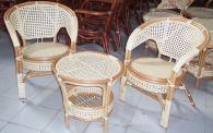 Универсална ратанова маса за всесезонно използване Пловдив луксозни