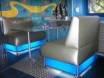 Дизайнерска мека мебел за заведения